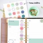 Free printable planner stickers and planner to do list