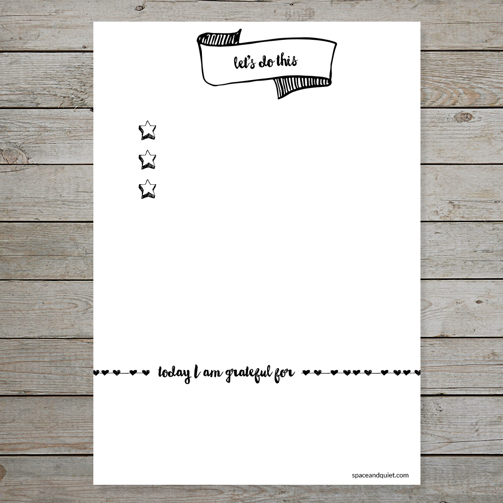 image about Printable Bullet Journal Paper identify Planner Printables - Subscriber Instrument Library