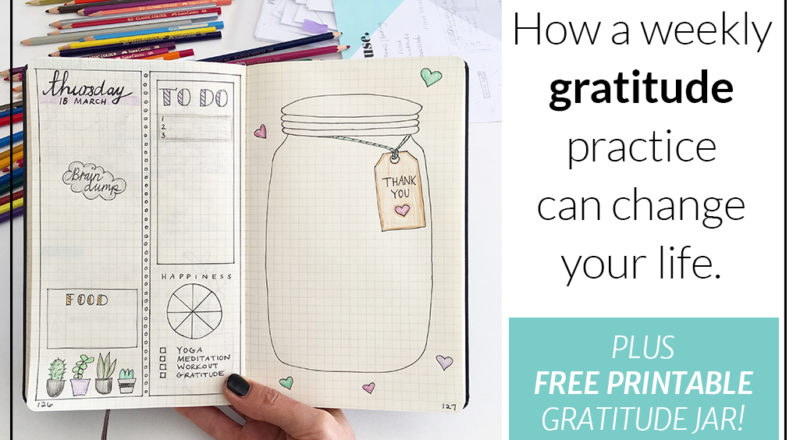 How a weekly gratitude practice can change your life