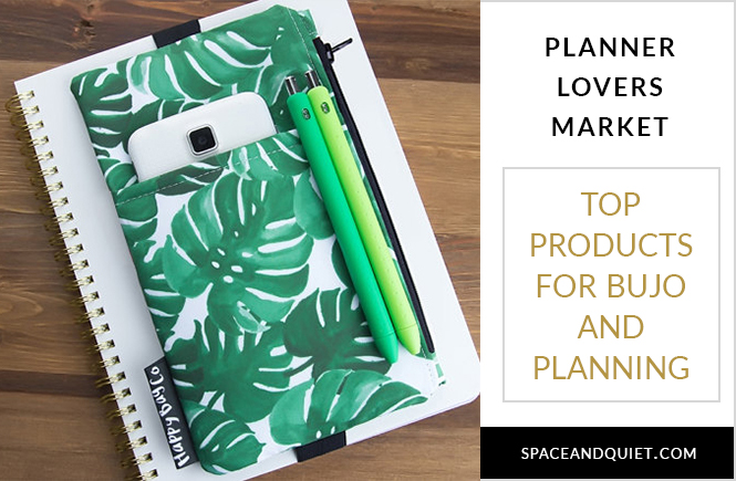 Planner Lovers Market - Products For Bullet Journaling and Planning