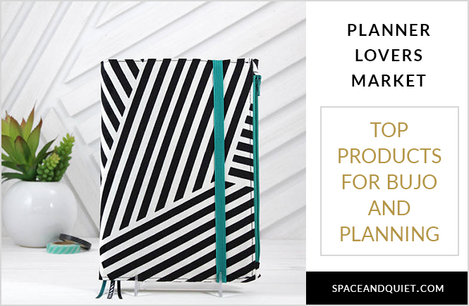 Planner Lovers Market April 2018 for Bullet Journaling and Planning