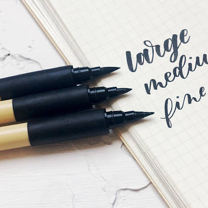 Brush Calligraphy Pen Set by Ink Me This